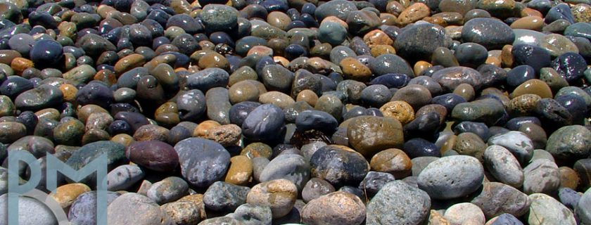 Mixed Mexican Beach Pebbles - Smooth Landscaping Pebbles