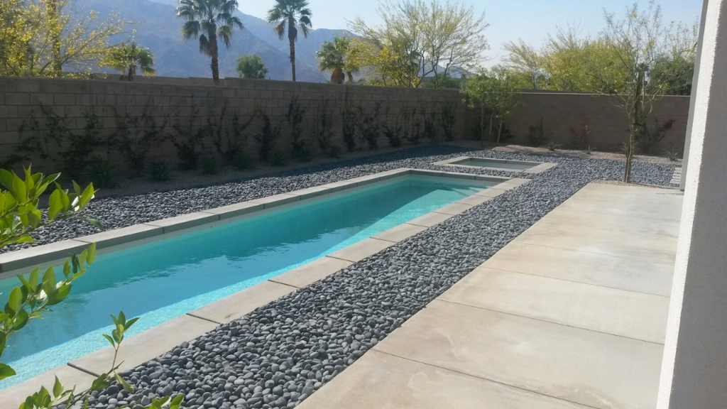 Mexican Beach Pebbles Customer Pictures Completed Projects