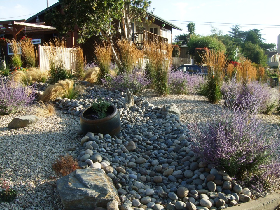 Houston River Rocks Landscaping Trends In Texas With Beach